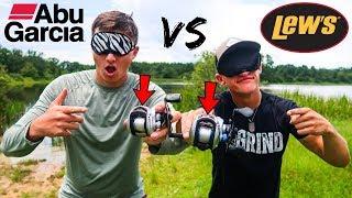 BEST Walmart Fishing Reel?! Abu Garcia vs Lew's (Blind Casting Test)
