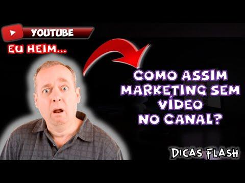 COMEÇAR NO YOUTUBE SEM VÍDEO