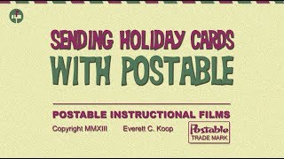 Sending Holiday Cards with Postable