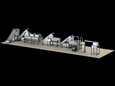 Scrap Reprocessing Machine