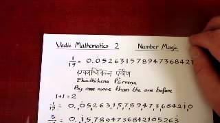 Vedic Maths 2 Decimal to fraction conversion