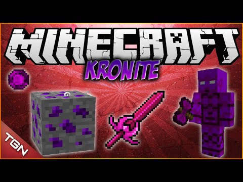 Minecraft 1.7.2 / 1.7.10 | Kronite MOD | [ Nueva dimension, herramientas y armaduras! ]