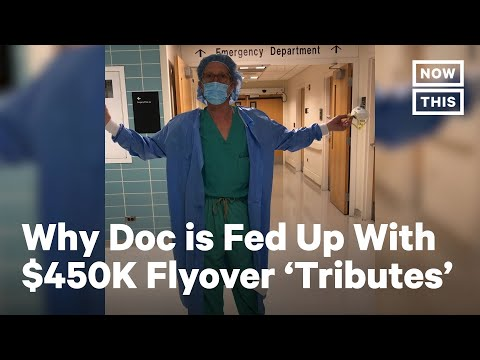 Doctor Blasts $450,000 Flyover 'Tributes' | NowThis