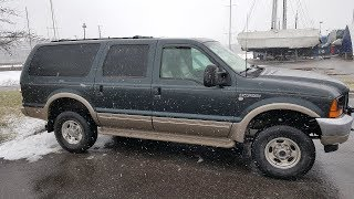 Ford Excursion 7,3TD  1000нм+ 430kw+  Да уж!!!