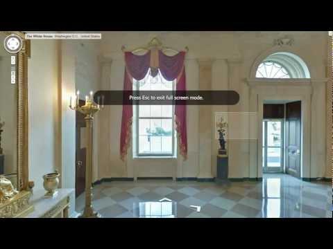Белый дом Тур резиденции президента США.