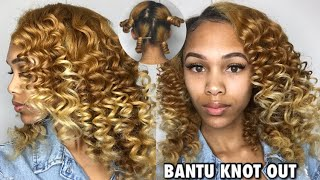 Spiral Bantu Knot Out | How To Get The Perfect Spiral Curls