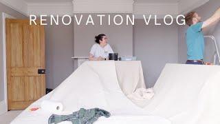 RENOVATION VLOG #1: Windows, Kitchen Plans & The Bedroom | The Anna Edit