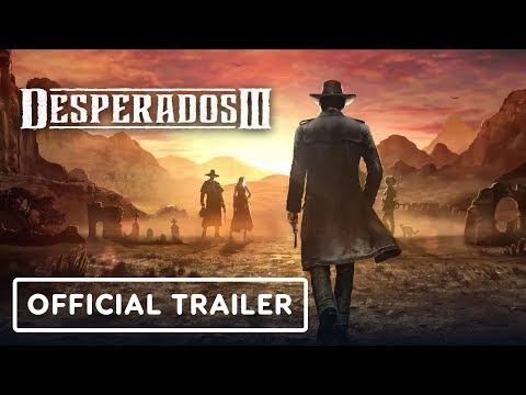 Desperados 3 Official Doctor Mccoy Trailer
