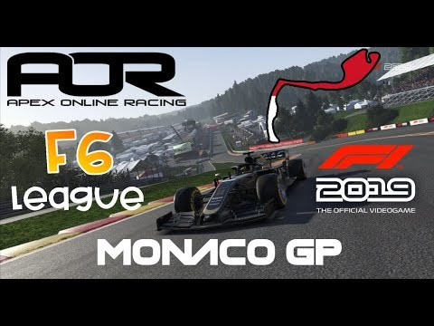 What a shame...   Apex Online Racing 🏆 PC F6 League - Monaco 🔥 F1 2019