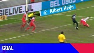SCHITTEREND HAKJE Ellery Cairo | FC Utrecht - Heracles Almelo (18-02-2011) | Goal