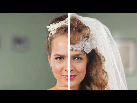 Un Recorrido Por Los Peinados De Novia: Pasado Vs Actual