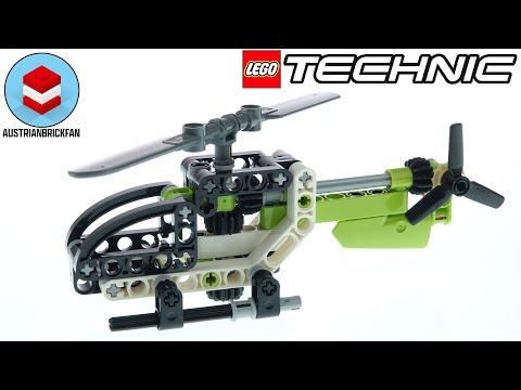Vidéo LEGO Technic 30465 : L'hélicoptère (Polybag)