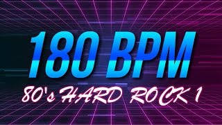180 BPM   80's Hard Rock   44 Drum Track   Metronome   Drum Beat