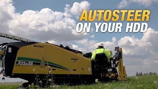 How to use AutoSteer on Vermeer horizontal directional drills