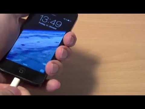 iPhone 5: Probleme beim Aufladen (Ladekabel | Wackelkontakt | Lösung )