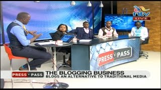 Tackling rogue bloggers and improving the blogging business - Press Pass part 3