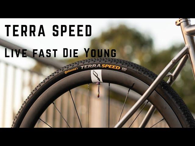 """Видео Покрышка Continental Terra Speed 28"""" 700 x 40C 28 x 1.50"""