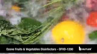 Ozone Fruit & Vegetable Disinfectors