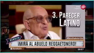 ¡Mirá Al Abuelo Reggaetonero!