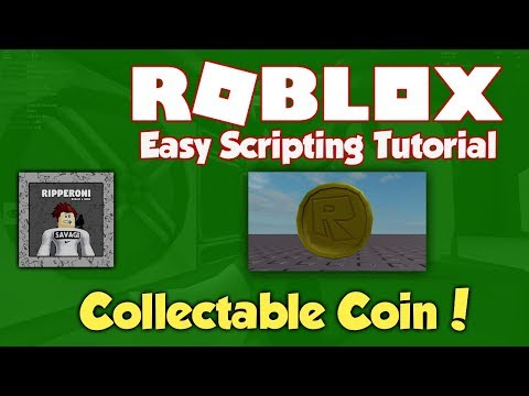 Roblox | How to make a Collectable Coin | Scripting Tutorial