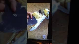 Кожаные, зимние, теплые ботинки со светящейся подошвой. от компании Интернет-магазин-Модной дешевой одежды. - видео