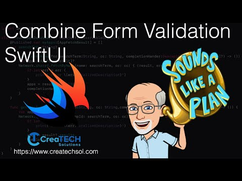 Combine Form Validation SwiftUI thumbnail