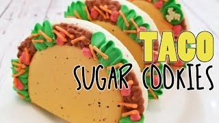 Loaded Taco Decorated Sugar Cookies On Kookievision
