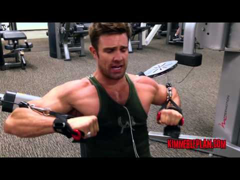 Cable Chest Press - David Kimmerle