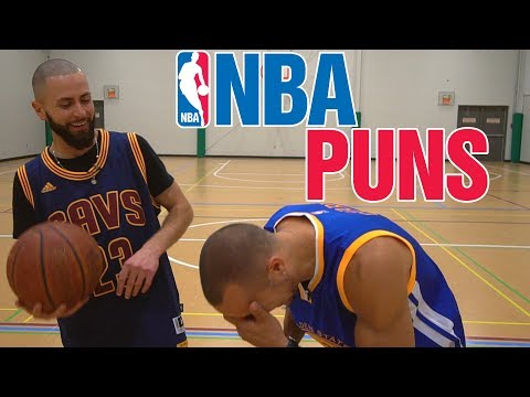 Basketball puns! (Golden State vs Cleveland)