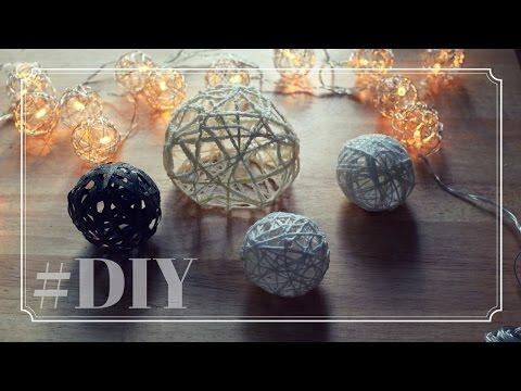 Dekokugel DIY | Weihnachtsdeko Schneekugel | Weihnachtskugel