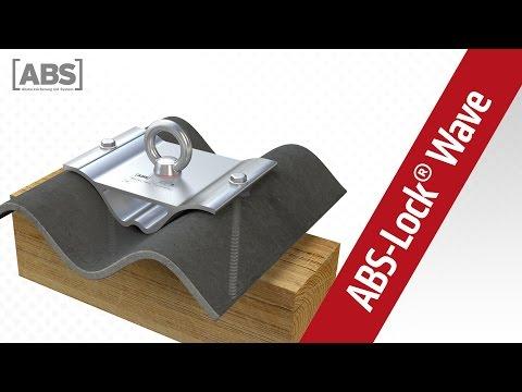 Présentation vidéo compacte concernant le point d'ancrage ABS-Lock Wave 60