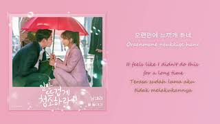 [HAN|ROM|ENG|INDO SUB LYRICS] Nam Saera - Fading Into You (Clean with Passion For Now OST Part 7)