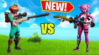 NEW TILTED TOWERS SHOOTOUT GAME!! - Fortnite Battle Royale