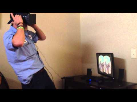 This Guy Can't Stand Up Straight While Using The Oculus Rift