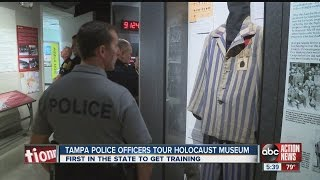 Tampa officers tour holocaust museum