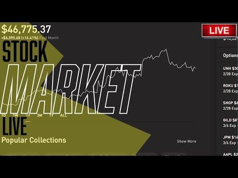 TESLA STOCK SPLIT!! – S&P & DOW Live Trading, Robinhood, Stock Picks, Day Trading & STOCK NEWS