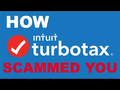 How TurboTax Scammed American Taxpayers out of Billions of Dollars
