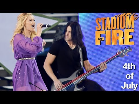 ONE OF THE GREATEST GIGS I'VE EVER PLAYED! - Stadium of Fire 4th of July Gig Vlog