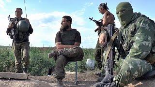 Батальон Викинги намертво держит южные рубежи ДНР