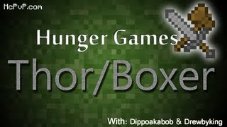Minecraft Hunger Games ep. 10: Thor & Boxer