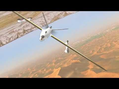 VTOL UAV Challenge concept in X-Plane - смотреть онлайн на