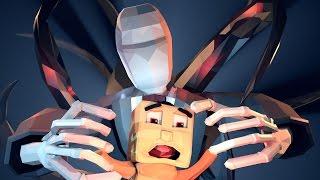 Minecraft   MURDER MAZE - Slenderman Scaring the  Baby