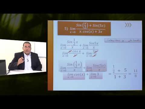 الرياضيات - الصف الثانى عشر - نهاية الدالة المثلثية
