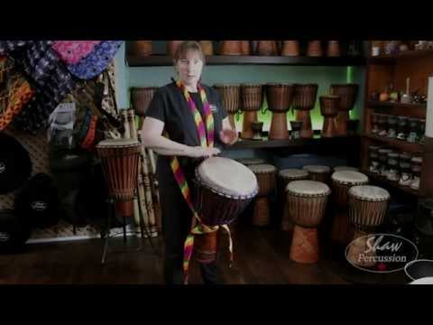 How to Tie a Djembe Drum Strap
