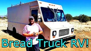 From Bread Truck to spacious RV - Tour of Paul Barger's Step Van conversion
