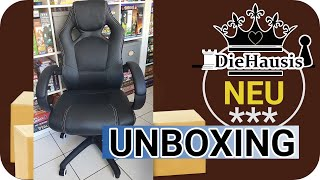 Gaming Stuhl für unter 100€ - Unboxing & Aufbau - unser AMAZON HAUL (2020)