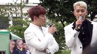 160924 음악중심 2PM 미니팬미팅 Make Love