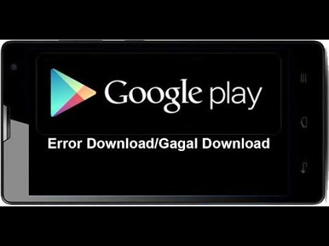 Video Cara atasi gagal download di play store.