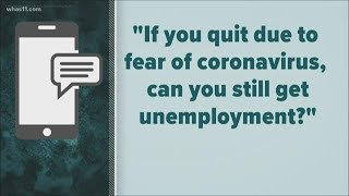 Can you get unemployment if you quit due to coronavirus fears?