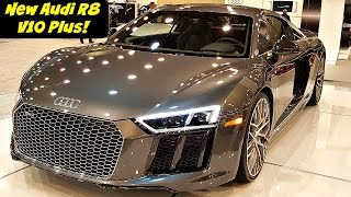 The New Audi R8 V10 Plus is Amazing!